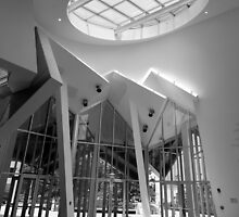 Interior view of  the Ray and Maria Stata Center  by John Gaffen