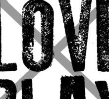 Live, Love, Play - Lacrosse Sticker