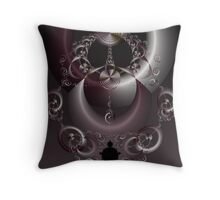 Rings of Fate Throw Pillow