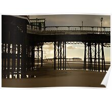 North Pier, Blackpool Poster