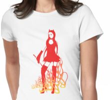 Devil Woman Womens Fitted T-Shirt