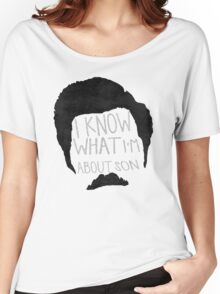 I know what im about son Women's Relaxed Fit T-Shirt