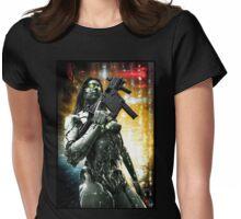 Cyberpunk T-shirt 046 Womens Fitted T-Shirt