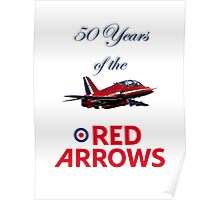 50 years of the Red Arrows Poster