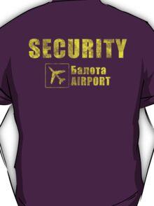 Balota Airport Security T-Shirt