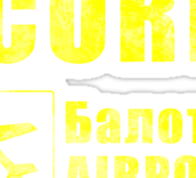 Balota Airport Security Sticker