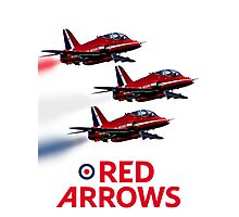 The Red Arrows reach 50 Photographic Print