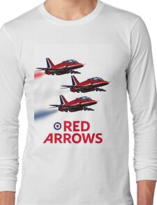 The Red Arrows reach 50 Long Sleeve T-Shirt