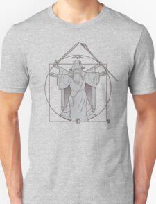 Vitruvian Wizard Unisex T-Shirt