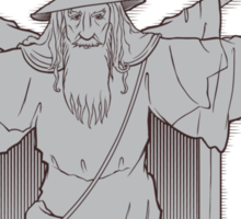 Vitruvian Wizard Sticker