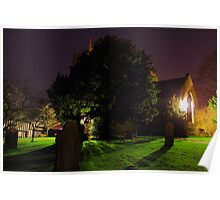 graveyard by night Poster