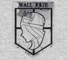 Wall Rose by BearWithAKnife