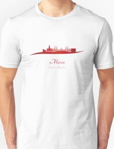 Mecca skyline in red T-Shirt