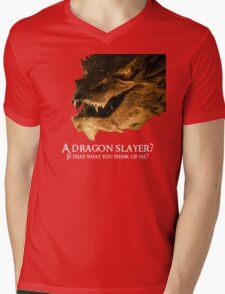 A dragon slayer? Mens V-Neck T-Shirt