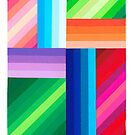 COLORED STRIPES by RainbowArt