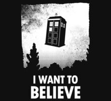 I Want To Believe  by Zooey07
