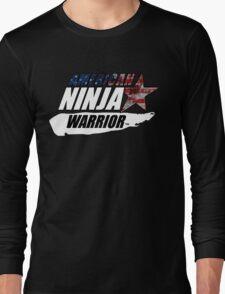 AMERICAN NINJA WARRIOR USA BOXING MOVIE Long Sleeve T-Shirt