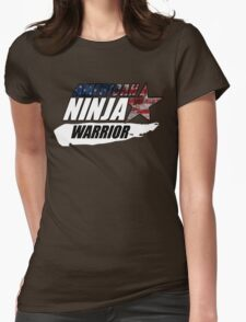 AMERICAN NINJA WARRIOR USA BOXING MOVIE Womens Fitted T-Shirt