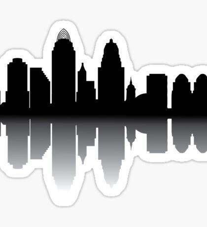 Cincinnati Skyline Sticker