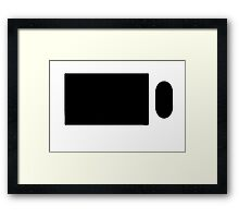 KEYBOARD AND MOUSE Framed Print