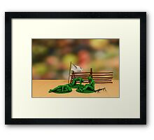 Toy Soldiers - Defeated Framed Print