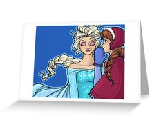The Untold Story of the Daughters of Arendelle Greeting Card