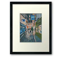 Somewhere In Paris Framed Print