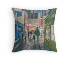 Somewhere In Paris Throw Pillow