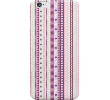 Stripes pink. iPhone Case/Skin
