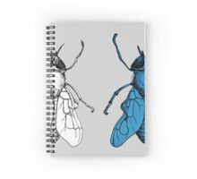 One Fly, Two Fly Spiral Notebook