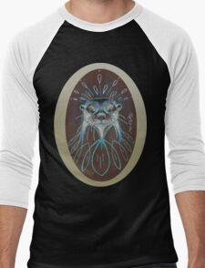 River Otter! Men's Baseball ¾ T-Shirt