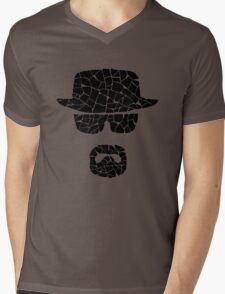 Heisenberg (black) Mens V-Neck T-Shirt