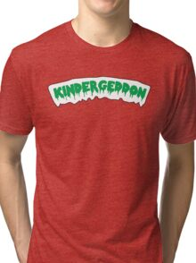 KinderGEDDON - Garbage Pail 1 Tri-blend T-Shirt