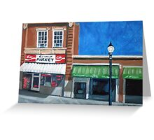 The Corner Market Greeting Card