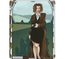 Dana Scully Art Nerdveau iPad Case/Skin