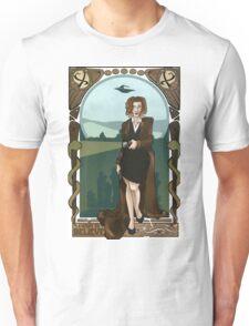 Dana Scully Art Nerdveau Unisex T-Shirt