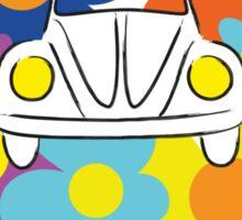 VW Flower Beetle  Sticker