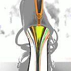 High heel by Sandy Maya Matzen