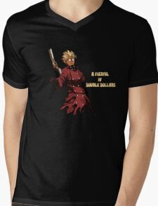 Fistful of Double Dollars Mens V-Neck T-Shirt