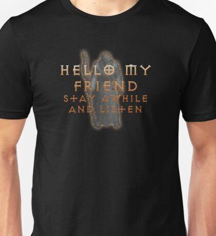 Deckard Cain Unisex T-Shirt