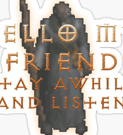 Deckard Cain Sticker