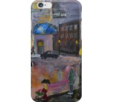 City Scene iPhone Case/Skin