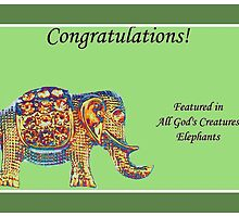 Banner - Feature - All God's Creatures by aprilann