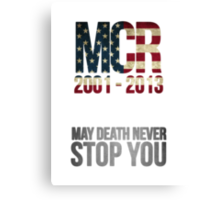 Celebration of Mcr.  Canvas Print