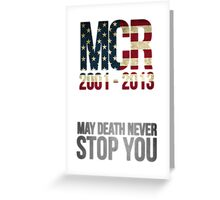 Celebration of Mcr.  Greeting Card