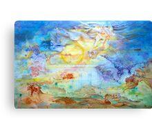 A Book of Mythologies Canvas Print