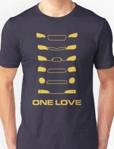 Subaru Impreza - One love T-Shirt