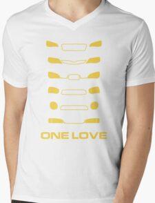 Subaru Impreza - One love Mens V-Neck T-Shirt