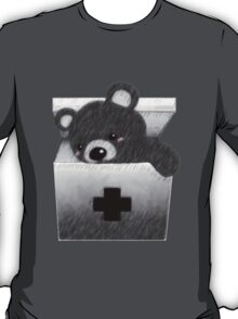 The stuffed toy of the bear T-Shirt