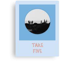 Take Five Canvas Print